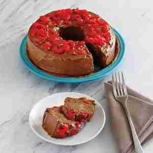 Cherry Chocolate Poke Cake Recipe