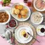 Corelle Vitrelle Country Cottage Dinner Plates Service for 6 18-Piece