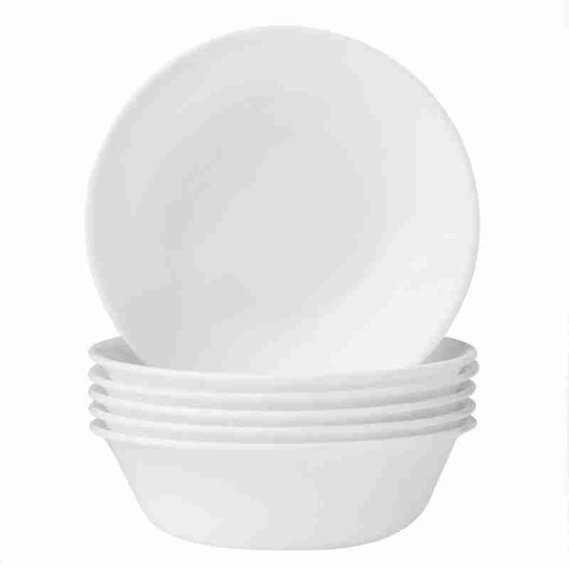 Corelle Vitrelle Winter Frost White Soup or Cereal Bowls 18oz (532ml) 6-Piece