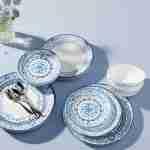 Corelle Vitrelle Portofino Lunch Plates 21.6cm 6-Piece