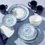 Corelle Vitrelle Portofino Dinnerware Service for 6 18-Piece