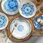 Corelle Vitrelle Lisbon Terrace Lunch Plates 21.6cm 6-Piece