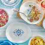 Corelle Vitrelle Portofino Coordinates Serving Platter 2 Pack