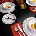 Corelle Vitrelle City Block Dinnerware Set 18-Piece