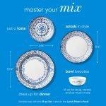 Corelle Vitrelle Portofino Appetizer Plates 17cm 6-Piece