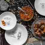 Corelle Vitrelle Disney Star Wars Doodles Lunch Plates 21.6cm 8-Piece