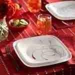 Corelle Vitrelle Splendor Square Dinnerware  Service for 6 18-Piece