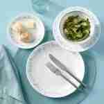 Corelle Vitrelle Country Cottage Appetizer Plates 17cm 8-Piece