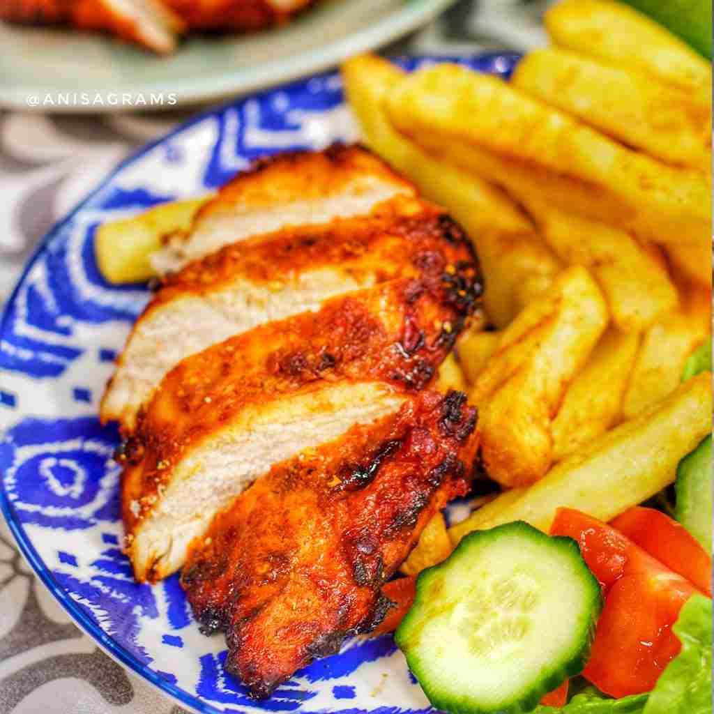 BBQ Peri Peri chicken