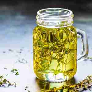 Sous Vide Thyme Infused Oil