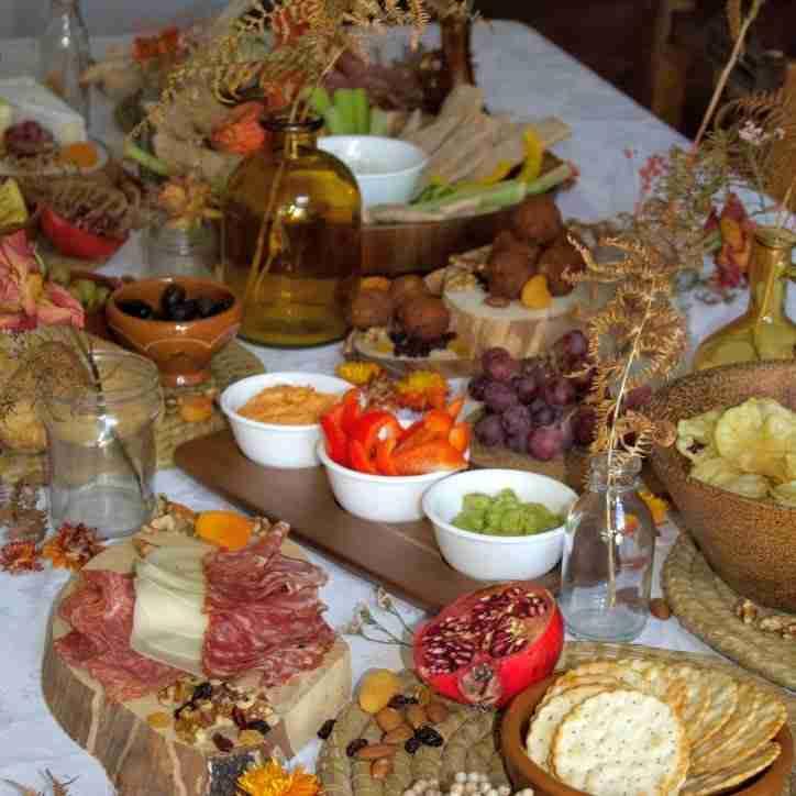 Autumn Grazing Table